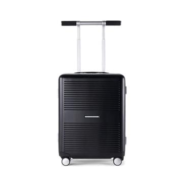 "《Type B/ポケットカバー付き/37L》手を添えるだけで滑らかに走行、""気の利く""設計であなたの旅路に寄り添うスーツケース(1〜2泊・機内持ち込みサイズ)|RAWROW"