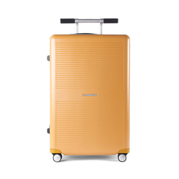 "《Type B/ポケットカバー付き/88L》手を添えるだけで滑らかに走行、""気の利く""設計であなたの旅路に寄り添うスーツケース(7泊〜)|RAWROW"