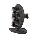 """髪に""""自信""""を与える「ヘアブラシ」 《携帯用》364本のピンで、頭皮の毛穴汚れがすっきり!爽快感がやみつきになるヘアブラシ   SCALP BRUSH ロイヤルブラック"""