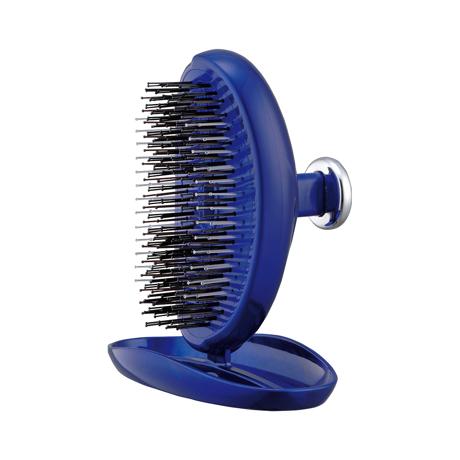 """髪に""""自信""""を与える「ヘアブラシ」 《携帯用》364本のピンで、頭皮の毛穴汚れがすっきり!爽快感がやみつきになるヘアブラシ   SCALP BRUSH ロイヤルブルー"""