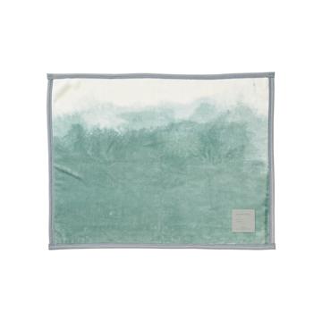 「タイトルのある毛布」が、空間を変える|《膝掛け》夏も冬も、気持ちいい!綿毛布の自然な柔らかさ|FLOOD OF LIGHT(LOOM&SPOOL)|カーキ