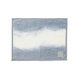 「タイトルのある毛布」が、空間を変える 《膝掛け》夏も冬も、気持ちいい!綿毛布の自然な柔らかさ FLOOD OF LIGHT(LOOM&SPOOL) グレー