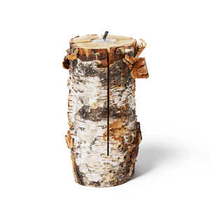 次のキャンプの主役はこれ!キャンドル一体型で一発着火、肉も焼ける「スウェディッシュトーチ」|Swedish Birch Candle