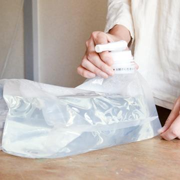 これからは『洗い分け不要』の時代|《詰め替えボックス3kg》これ一つで綿もカシミヤも洗える!キャップ計量もすすぎの手間もいらない洗剤|海へ…Step