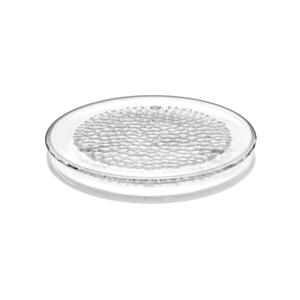 *夏季限定イベント《平皿/直径32.7cm》テーブルに映る光模様が美しい!サラダやカルパッチョを涼やかに盛り付けられるプレート|Orrefors