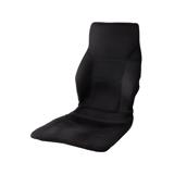 サービスエリアいらずの「運転席」|置くだけで、運転中ずっと、腰・背中・お尻がラクな車用シートクッション|P!nto Driver|ブラック