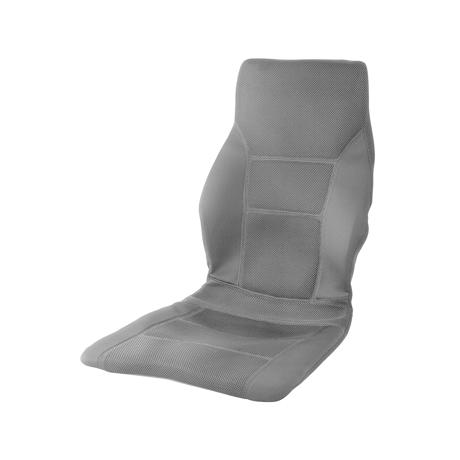 サービスエリアいらずの「運転席」|置くだけで、運転中ずっと、腰・背中・お尻がラクな車用シートクッション|P!nto Driver|グレー