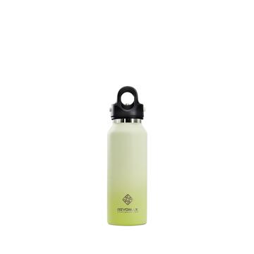 「指3本」で密閉できる魔法瓶|《スリムタイプ 355ml》炭酸もビールも36時間保冷、保温も18時間OKの「マイボトル」|REVOMAX|ソフトライム