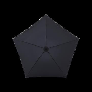 毎日の「散歩」が楽しくなるグッズを集めてみました|水はじきバツグン、極細なのに耐風構造の「世界最軽量級折りたたみ傘」|Pentagon72|ブラック