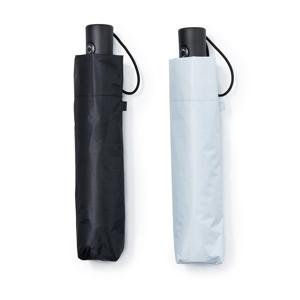 《晴雨兼用》親指1本でカンタン開閉、なのに驚くほど軽い!完全遮光タイプの「ワンタッチ開閉式折りたたみ傘」|HEAT BLOCK × VERYKAL