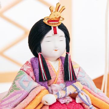 『毎年のしあわせ』が御嬢様と家族に訪れる|*5台限定 新作《平飾り》日本伝統工芸をコンパクトにした、木目込の「プレミアム雛人形」※第三期受注分 | 清雅雛