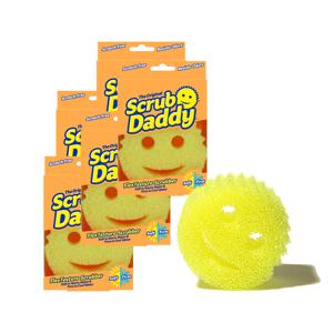 *キャンペーン《6個セット》水切れ・汚れ落ちバツグン!家中のお掃除に使える「マルチスポンジ|Scrub Daddy