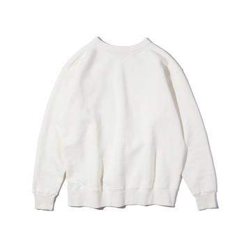 100年前のスウェット、復刻|新作《WHITE/フットボールシャツ》スポルディング社の名作ユニフォームを再構築、肩まわり軽やかなスウェット|A.G. Spalding & Bros