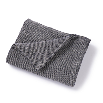 「熟睡」を追求したタオルケット|《秋冬用》ウールを織り込んだ、凹凸状の「ハニカム織り」が暖かさをキープ、汗は逃がす「タオルケット」|ハニカムウールケット|ネイビー