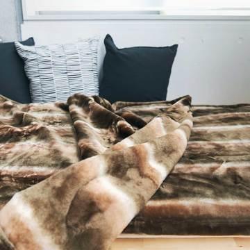 寝心地がまるで違う「毛布」|《掛毛布/ダブル》暖かさはもう当たり前、軽さとなめらかさも実現した「毛布」|CALDONIDO NOTTEⅡ