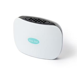 持ち歩きOK!低濃度オゾンガスで、24時間除菌・消臭できる「オゾン発生器」|Airdz Shell