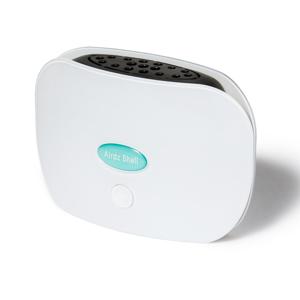 持ち歩きOK!低濃度オゾンで、24時間除菌・消臭できる「オゾン発生器」|Airdz Shell