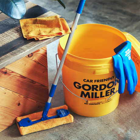 いま、最高にアガる「掃除」!|《3枚セット》家中の拭き掃除に活躍!ガラスや家電にも、毛羽が残らない「マイクロファイバークロス」|GORDON MILLER