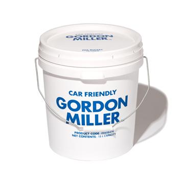 いま、最高にアガる「掃除」!|おしゃれな洗車道具が、水仕事にも収納にも重宝!しっかり密閉できる「フタつきバケツ(17L)」|GORDON MILLER ペールバケツ|ホワイト