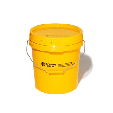 いま、最高にアガる「掃除」!|おしゃれな洗車道具が、水仕事にも収納にも重宝!しっかり密閉できる「フタつきバケツ(17L)」|GORDON MILLER ペールバケツ|イエロー