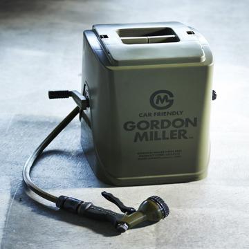 いま、最高にアガる「掃除」!|洗車や庭の水撒きに。カバーが着け外しできる、コンパクトな「ホースリール」|GORDON MILLERフルカバーホースリール