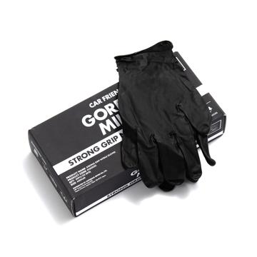 いま、最高にアガる「掃除」!|《50枚入り》段ボール運びやDIYに。力仕事に重宝する、使い切りの「合成ゴム手袋」|GORDON MILLERストロンググリップ ニトリルグローブ