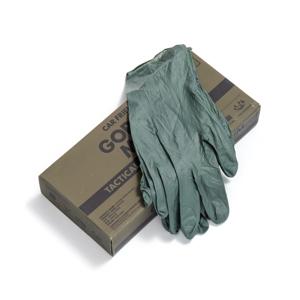 《50枚入り》床の水拭きや食器洗いに。水仕事に重宝する、使い切りの「合成ゴム手袋」|GORDON MILLERタクティカル ニトリルグローブ