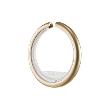 『鍵収納』をデザインする|《Orbitkeyオプション》電子キーもスマートタグも付けられるスライド式リング|Orbitkey Ring Yellow Gold&All-Black|Yellow Gold