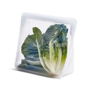《3.07L/スタンドアップ メガ》食材の密閉保存から調理まで、これひとつでOK!たっぷり大容量で自立もするマルチバッグ|stasher