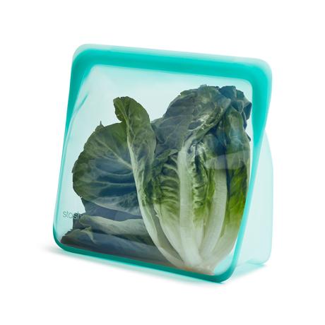 3000回加熱・冷凍できる密閉シリコンバッグ|《3.07L/スタンドアップ メガ》食材の密閉保存から調理まで、これひとつでOK!たっぷり大容量で自立もするマルチバッグ|stasher