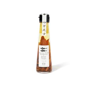 うまみ凝縮!いつものお酢が宗田節で輝きだす、つぎ足して使える「だし酢」|SHIMANTO DOMEKI COMPANY
