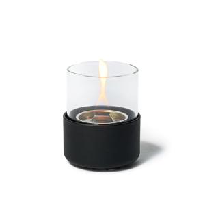 《クラシック/直径106mm》ニオイや煙が出ず、倒しても安心の特殊燃料で手軽に楽しめる!「卓上ランプ」|LOVINFLAME パッショングラス