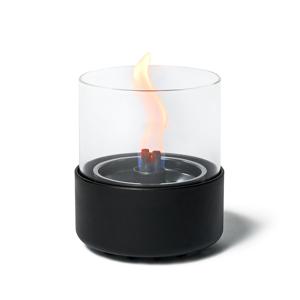 《デラックス/直径144mm》ニオイや煙が出ず、倒しても安心の特殊燃料で手軽に楽しめる!「卓上ランプ」|LOVINFLAME パッショングラス