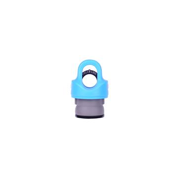 「指3本」で密閉できる魔法瓶|《オプション》REVOMAX専用キャップ|REVOMAX|ライトブルー