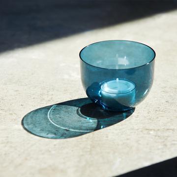入浴の効果を高めるための7つの方法を教えます。|頭と体のリセット時間に、浮かべて眺める「香りつきバスキャンドル」|kameyama candle house|ブルーグレー