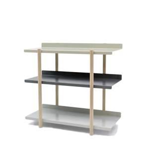 《3段タイプ》色違いの棚板を入れ替えるたびに、新鮮な空間づくりができる「シェルフ」|DUENDE Marge Shelf