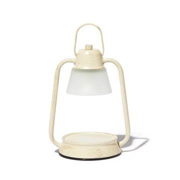 デジタルデトックスで、心身をリフレッシュする方法とグッズ6選|火を使わずに、香りと灯りが心地よく広がる「キャンドルウォーマーランプ」|kameyama candle house|ホワイト