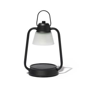 デジタルデトックスで、心身をリフレッシュする方法とグッズ6選|火を使わずに、香りと灯りが心地よく広がる「キャンドルウォーマーランプ」|kameyama candle house|ブラック