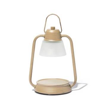 デジタルデトックスで、心身をリフレッシュする方法とグッズ6選|火を使わずに、香りと灯りが心地よく広がる「キャンドルウォーマーランプ」|kameyama candle house|グレージュ