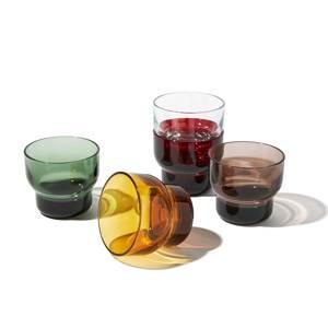 《210ml》ずっと割れない保証付き、職人の手で磨いて仕上げた「樹脂製グラス」|双円
