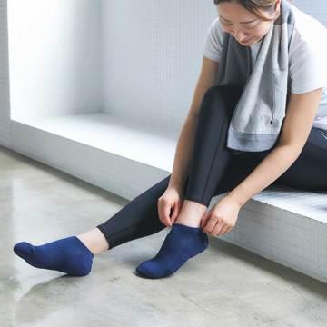 素足より涼しい、はじめての夏|《スニーカー用/22.5~27.5cm》指先のサラサラが続く!「美濃和紙」の糸で編んだソックス|AMIGAMI