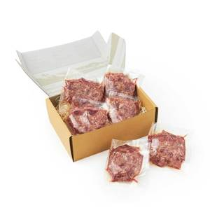 《ハンバーグ6個セット》ロッキー山脈の雪解け水と牧草が育む、上質の赤身肉|COWMAN STEAK CLUB