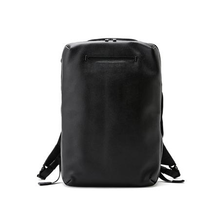 """心の""""ゆとり""""を、バッグの中に 《2WAY薄型リュック》防水レザー、超軽量、直感ポケットつきの、ストレスフリーバッグ(13インチ相当PC収納可)   FARO"""