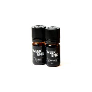 《オプション/エッセンシャルオイル》家具メーカーが独自の製法で抽出、飛騨のヒノキ精油をベースにブレンドした心地いい香り|WEEK END
