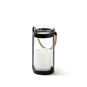 《Sサイズ》暗くなったら自動で点灯、ソーラー充電式の「LEDガラスランタン」|Notte