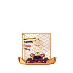 MONOCO限定デザイン《平飾り》日本伝統工芸をコンパクトモダンにした、江戸木目込の「プレミアム兜飾り」※第一期受注分|柿沼人形|宝輝