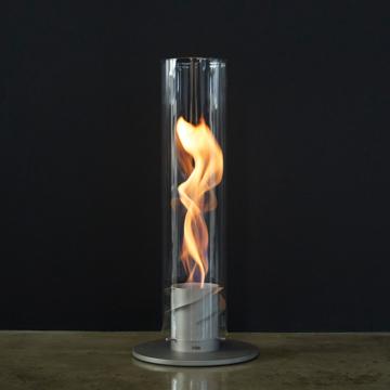 ぐるぐる炎で、心は無重力|《オプション/交換用ガラスカバー》万が一の破損時や予備パーツとして、「SPIN90」専用の耐熱ガラス製カバー|Höfats
