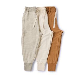《裾リブパンツ》そのまま外出できる、オーガニックコットンの「大人の部屋着」|MONOEARTH