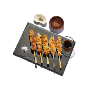 《4人前/5串×4袋》キング・オブ・焼き鳥「錦爽 名古屋コーチン」、食べ比べセット|丸トポートリー食品