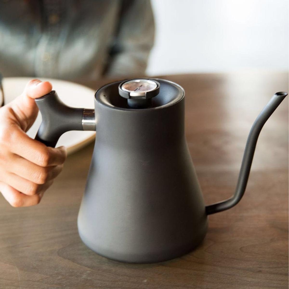 お湯の温度が計れる「ケトル」|適温で淹れれば、コーヒー・お茶が美味しくなる